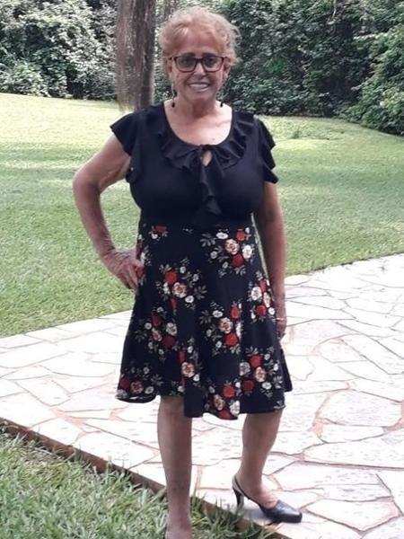 Maria das Graças Paim, 71, morreu em decorrência da covid (Imagem: Arquivo Pessoal)