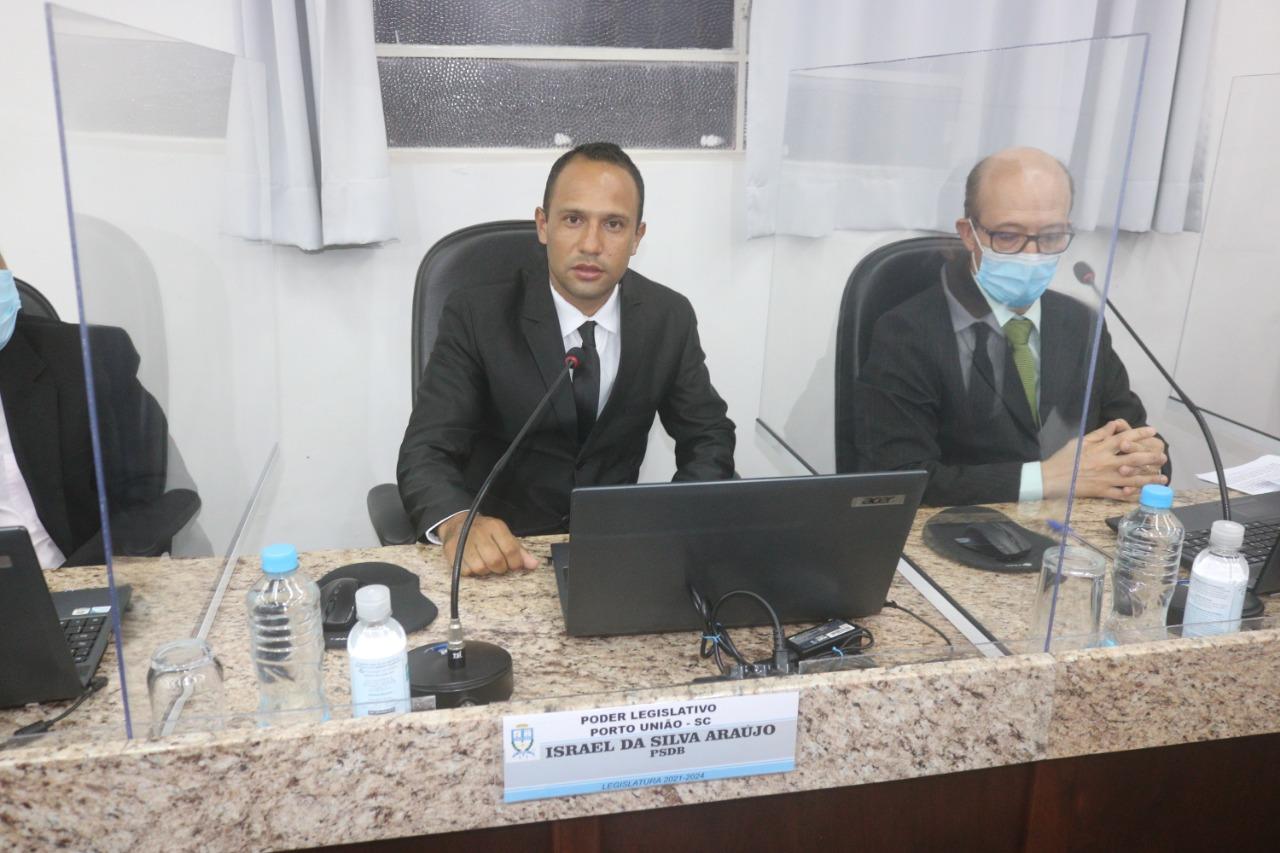 Câmara de Porto União empossa o vereador Israel da Silva Araújo (2)