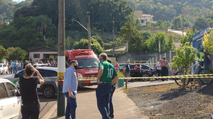 Adolescente invade escola e mata crianças no Oeste de SC — Foto: Simone Fernandes/Arquivo Pessoal
