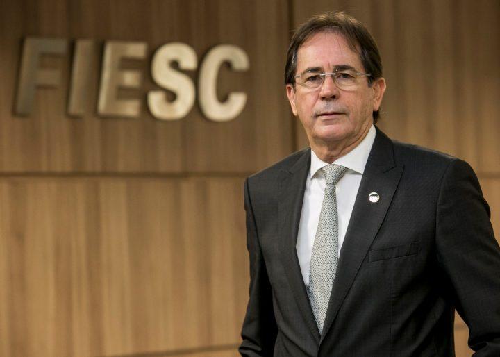 Mário Cezar de Aguiar, Presidente da Fiesc. (Foto: ADI-SC).